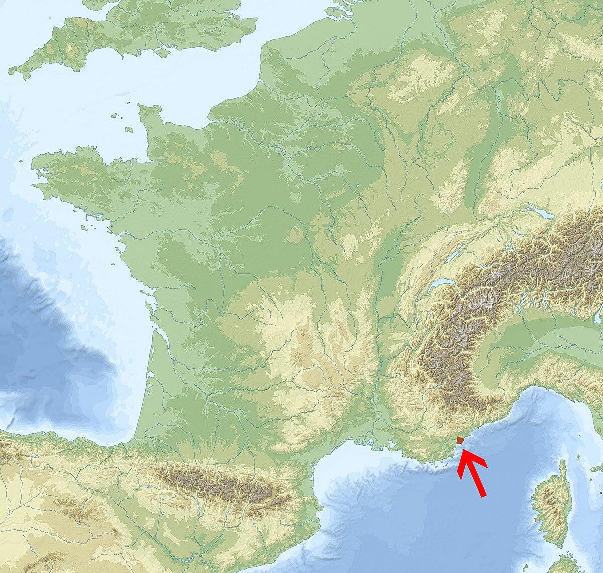 massif de l esterel carte Massif de l'Esterel — Wikipédia