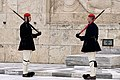 Evzones wearing the traditional Fustanella.jpg