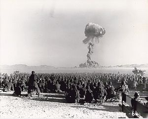Nuclear weapons of the United States - The U.S. conducted hundreds of nuclear tests at the Nevada Test Site.