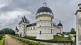 Exterior of the Castle of Valencay 28.jpg