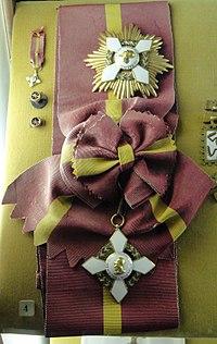 Extraordinary Grand Cross of the Order of Vasco Núñez de Balboa (Panama) - Memorial JK - Brasilia - DSC00379.JPG