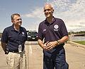 FEMA - 35619 - DHS Secretary Chertoff visits Iowa floods.jpg