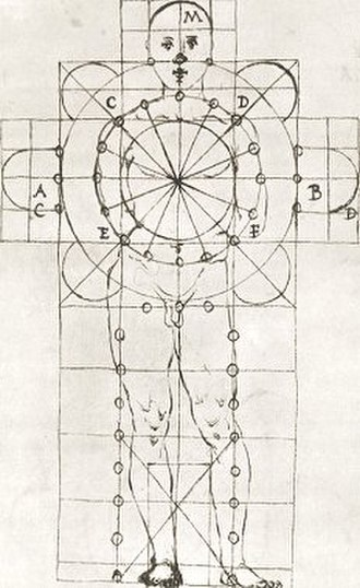 Vitruvian Man - Image: FG Martini 2