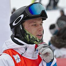 FIS Moguls World Cup 2015 Finals - Megève - 20150315 - Aleksey Pavlenko 3.jpg