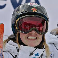 FIS Moguls World Cup 2015 Finals - Megève - 20150315 - Justine Dufour-Lapointe 3.jpg