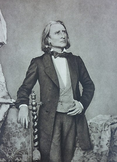 Picture of a band or musician: Franz Liszt