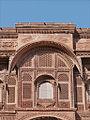 Façade du Palais (Fort Meherangarh, Jodhpur) (8415295043).jpg
