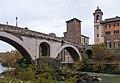 Fabricius Bridge, 62 BC - Rome, Italy - panoramio.jpg