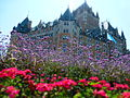 Fairmont Le Château Frontenac in the summer.JPG