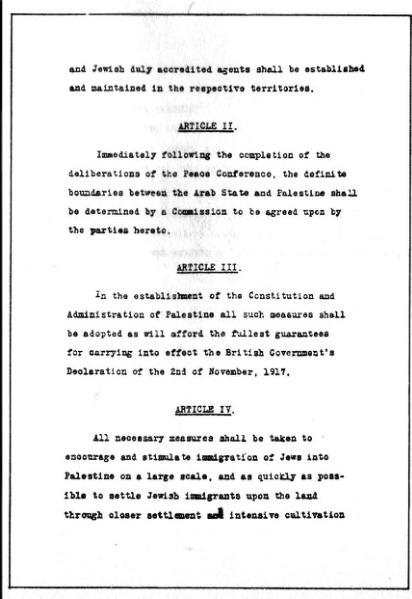 File:Faisal Weizmann agreement 1919.djvu