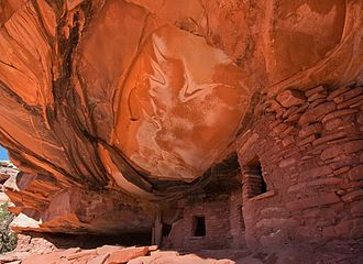 Trail of the Ancients - Fallen Roof in Comb Wash, Utah