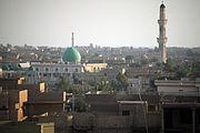 Fallujah skyline before November 2004 battle