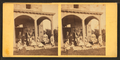 Family gathering in the front porch, from Robert N. Dennis collection of stereoscopic views.png