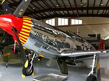 One of three remaining airworthy P-51C Mustangs in the world.