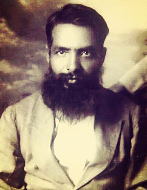 Baba Faqir Chand - Faqir Chand near the end of 1918 upon returning to India from Baghdad (where he was posted during World War I)