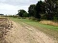 Farm road at Dalderby - geograph.org.uk - 555863.jpg