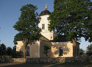 Fasterna Church - Fasterna Church, external view