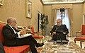 Faurie Vaticano con su par del Vaticano Monseñor Gallagher.jpg