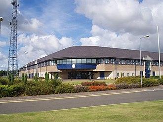 Fife Constabulary - Fife Constabulary headquarters, Glenrothes