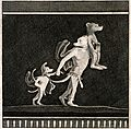 Figures of three dog-like creatures, two walking and one bei Wellcome V0038940.jpg