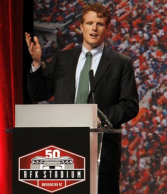 Joe Kennedy III - Kennedy speaking at the 50th Anniversary of the Robert F. Kennedy Memorial Stadium (2011)