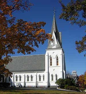 First Baptist Church of Wollaston - Image: First Baptist Church of Wollaston Quincy MA 01