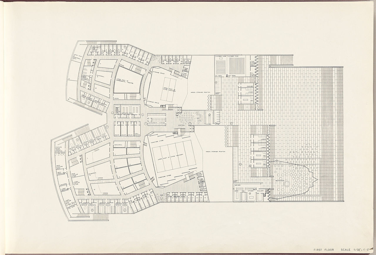 Sydney Opera House Floor Plan Interior