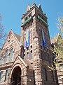 First Presbyterian Church tower - Davenport, Iowa.JPG