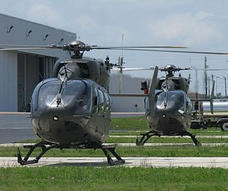 Eurocopter UH-72 Lakota - The first two Army National Guard UH-72As at Tupelo, Mississippi