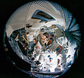 Fish-eye view of Lunar Module Mission Simulator.jpg