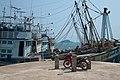 Fishing boats at Baan Salak Petch Pier, Ko Chang, Thailand.jpg