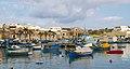 Fishing boats at Marsaxlokk 7 (6800201070).jpg