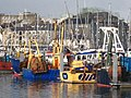 Fishing boats in Sutton Harbour - geograph.org.uk - 1554931.jpg