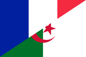 Flag of France and Algeria