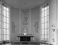 Flein, Dreifaltigkeitskirche (katholisch), Entwurf Richard Schumacher, Einweihung 1956, Chor.png