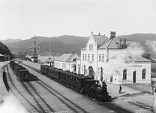 Flekkefjord Line railway line in Norway