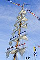 Flickr - Official U.S. Navy Imagery - Sailors aboard the Colombian navy tall ship A.R.C. Gloria man the sails as the ship moors to participate in Boston Navy Week 2012..jpg