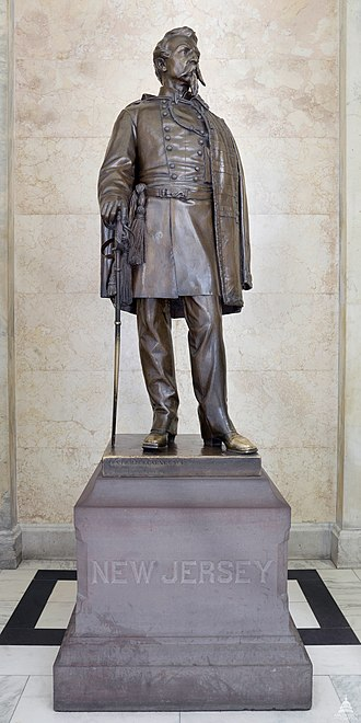 Philip Kearny (Brown) - The sculpture in the National Statuary Hall Collection