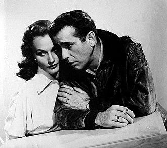 Tokyo Joe (film) - Florence Marly and Humphrey Bogart in an advertisement for Tokyo Joe