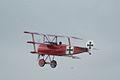 Fokker Dr.I Manfred Richthofen Takeoff 08 Dawn Patrol NMUSAF 26Sept09 (14413494277).jpg