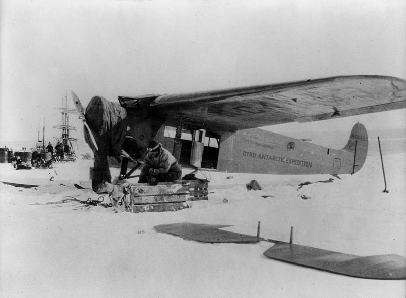 File:Fokker Universal Byrd Expedition Antarctica 1929.jpg