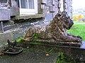 Foot scraper and Lions, Prehen House - geograph.org.uk - 1037291.jpg