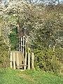 Footbridge over the Amber - geograph.org.uk - 1278325.jpg