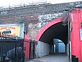Footpath through a railway arch, Southwark Bridge Road - geograph.org.uk - 1750184.jpg