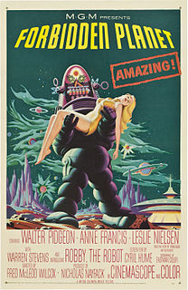 <i>Forbidden Planet</i> 1956 science fiction movie by Fred M. Wilcox