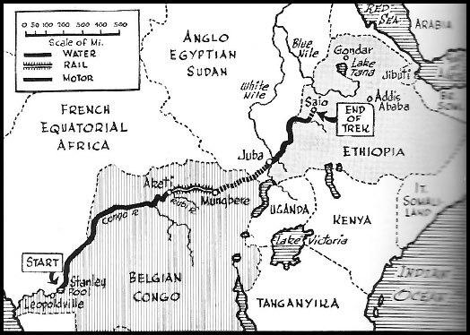 Force Publique trek 1941