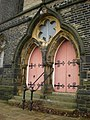 Former King Cross Methodist Church, Doorway - geograph.org.uk - 1087357.jpg