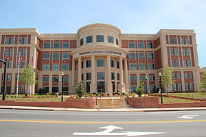 Forsyth County Courthouse in Cumming