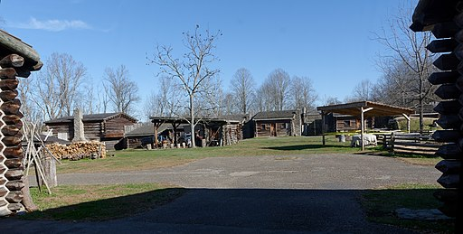 Fort Boonesborough reproduction, KY, US (03)