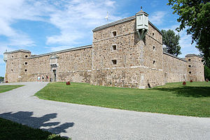 Fort Chambly - Image: Fort Chambly 03